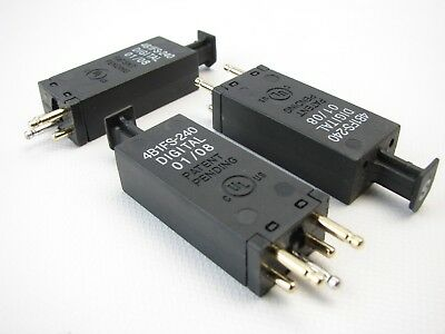 3 New Circa Telecom 4b1fs-240 5-pin Surge Protection Modules T65