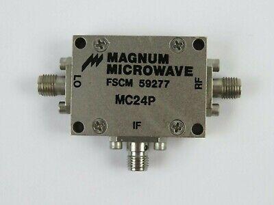 Magnum Microwave Mc24p Coaxial Rf Mixer Fscm 59277