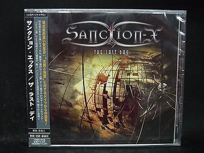 SANCTION-X The Last Day JAPAN CD Stormwitch The Armada Frontline Talon State Of