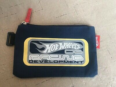 Hot Wheels Race Car Pencil Case Carrying Bag Pouch Mattel School Supplies