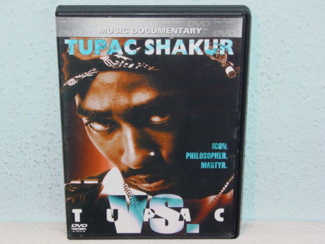 """*****DVD-TUPAC SHAKUR""""TUPAC VS.""""-2003 ZYX Music*****"""