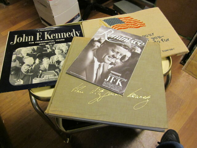 John Fitzgerald Kennedy; As We Remember Him by Joan Simpson Meyers.LP EXTRAS
