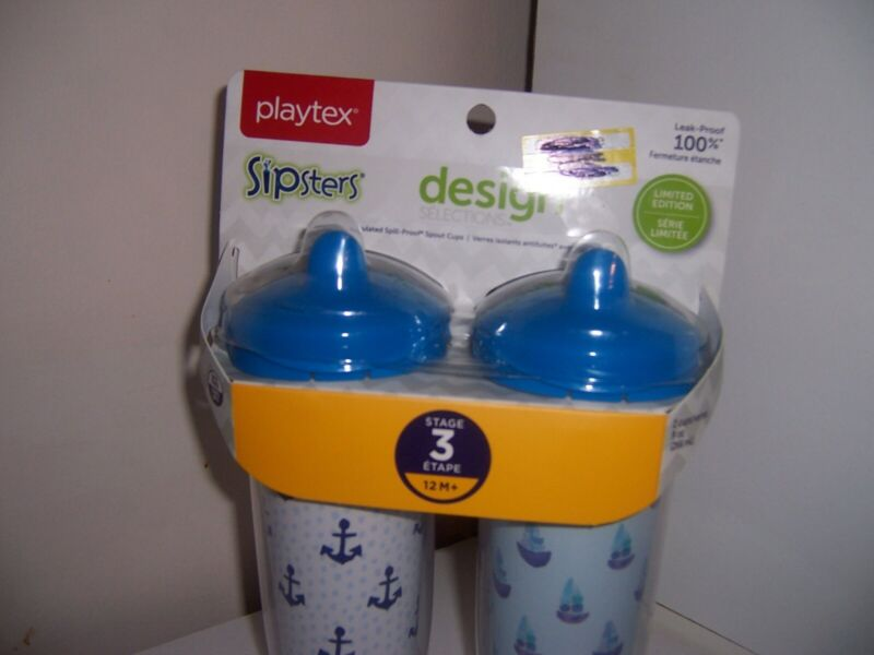 Playtex sipsters design stage 3 anchors ships  new