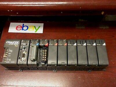 Koyo Direct Logic 205 Plc Controller D2-09b-1 Power Supply...