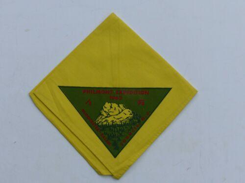 1963 Philmont Expedition Gloucester-Salem Council N.J. Boy Scout BSA Neckerchief