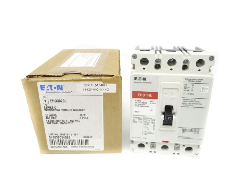 EATON EHD3020L SER. C 20A NSMP
