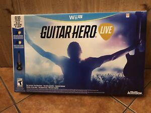 Guitare héros Wii U