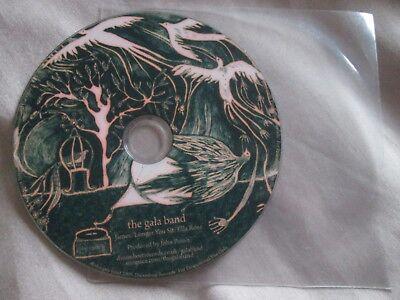 The Gala Band – James Label: Dreamboat Records UK Promo CD Single Gala-band