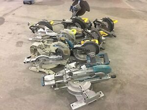 Lot of table saws