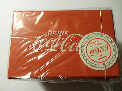 Vintage Coca Cola Music Box/jewelry box/cooler- NEW - 39069 - SEALED -  NICE!