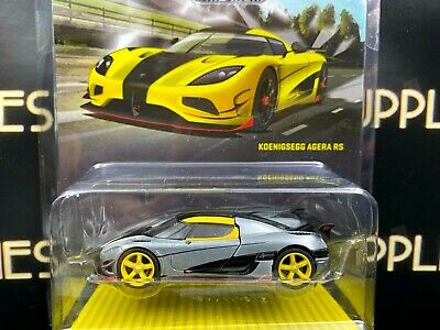 CHASE ! 2020 Tarmac Works 1:64 Scale Global64 YELLOW KOENIGSEGG AGERA RS