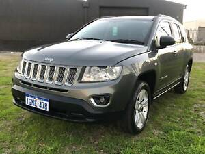 2012 JEEP COMPASS SPORT * LOW KMS * MANUAL* 01 Year Free Warranty * Welshpool Canning Area Preview