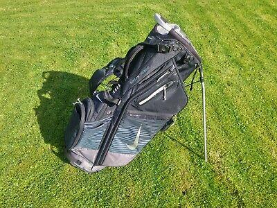 Nike Air Hybrid Golf Stand Bag - 14 Way Divider - Black