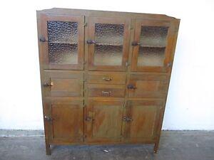 C34040 Vintage RETRO Oak Kitchen Cabinet Dresser Mount Barker Mount Barker Area Preview