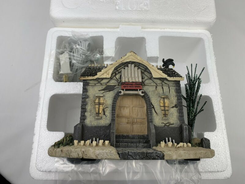 Hawthorne Village THE MUNSTERS HALLOWEEN Collection ORGAN REPAIR