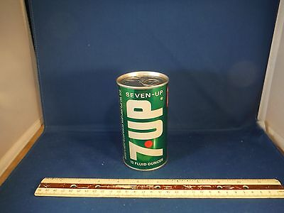 """Unusual Vintage 7-Up Soda Can """"Love Story"""" Music Box"""