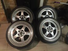 Genuine 3 Piece Fr18 SIMMONS 5x120 Horningsea Park Liverpool Area Preview