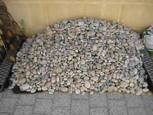Garden pebbles 30 - 60mm grey Secret Harbour Rockingham Area Preview