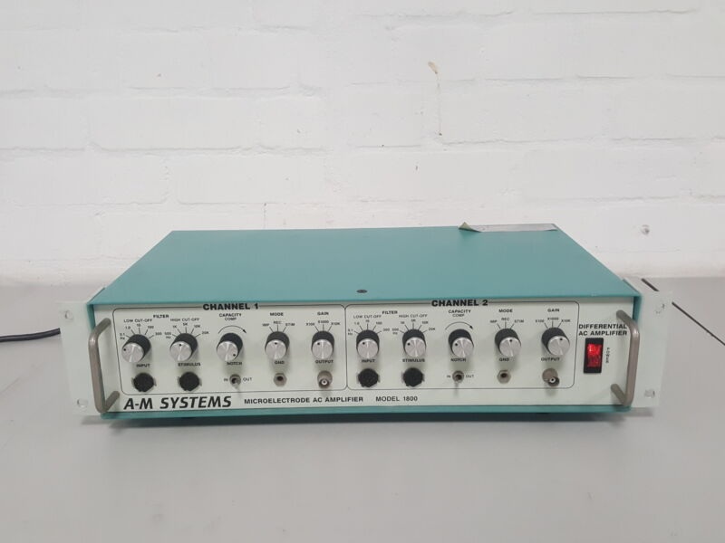 A-M Systems Model 1800 Micro-Electrode AC Amplifier Lab