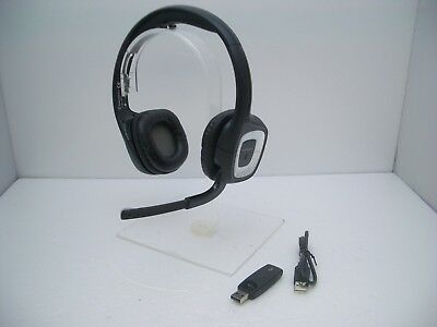 Plantronics 80930-21 Audio 995H-02 Wireless Headband Headset with USB-02 Adapter