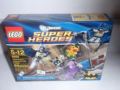 LEGO 6858 Batman Catwoman Catcycle City Chase, 2012, New SEALED