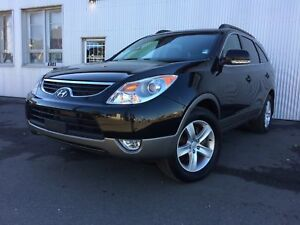 2012 Hyundai Veracruz GL, AWD, BACKUP CAM, LEATHER, 7 PASS, SUNR