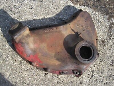 Farmall Super M Tractor Engine Motor Main Front Cover Panel