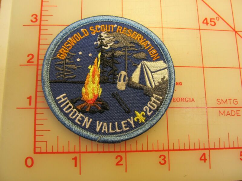 Hidden Valley 2011 collectible camp patch (g29)