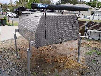 Lift off canopy jack off & dual cab canopies | Caravans u0026 Campervans | Gumtree Australia Free ...