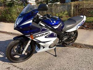 2006 SUZUKI GS500F with 4000 KM