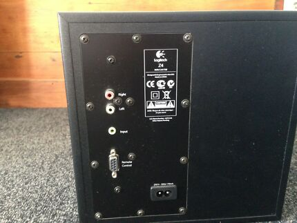 Logitec MP3 speaker/subwoofer system for PC, smartphone