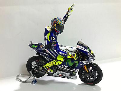 1:12 Tamiya Full Detail Yamaha M1 Valentino Rossi 2014 Misano Bike +...