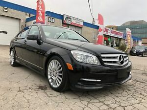 2011 Mercedes Benz C-Class LEATHER SEATS_SUNROOF_BLUETOOTH