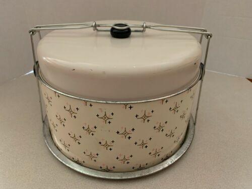 Vintage Metal Cake Pie Saver Carrier