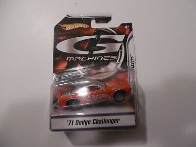 Hot Wheels G Machines Classical Gassers '71 Dodge Challenger red snapper