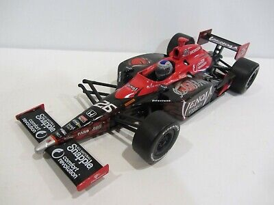 broke 2011 MARCO ANDRETTI signed 1:18 INDIANAPOLIS 500 VENOM DIECAST INDY CAR