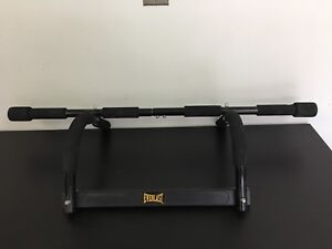 Pull up bar, push up stands & Ab Roller Wheel (Everlast)