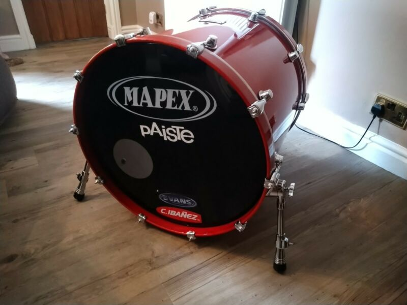 Mapex Saturn Series 22'' Bass DrumTransparent Walnut Glaze(other bits included)