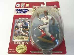 1996 ROD CAREW California Angels (Convention special) Starting Lineup SLU