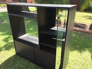 Black TV/Entertainment unit FREE - pick up St Marys Colyton Penrith Area Preview