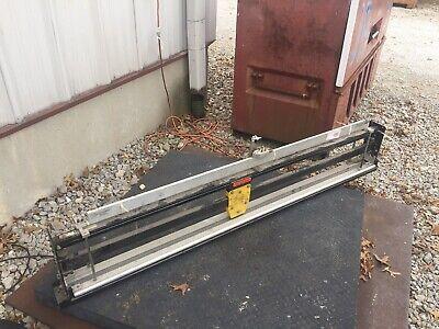 Dehnco 60 Pneumatic Shear Sheet Cutter