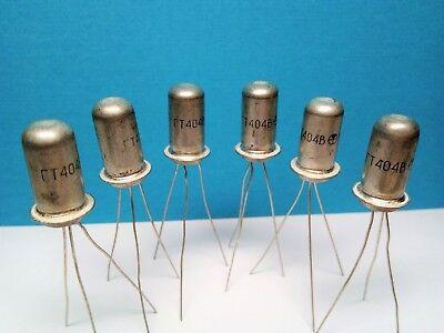 Lf-transistor Gt404v Ac141 Germanium - Npn - Nos Ussr. Lot 6pc.
