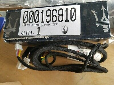 GENUINE NEW MASERATI QUATTROPORTE 2004 - 12 REAR DOOR WIRING HARNESS 196810