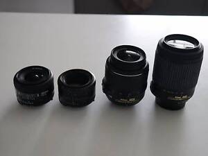 Nikon Semi-Pro DSLRs Bundle D7000, D7100 x2 + lenses and bag Newcastle Newcastle Area Preview