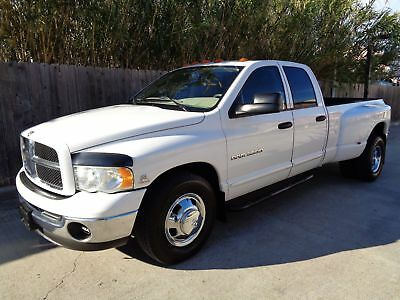 Dodge Ram 3500 SLT 2003 Dodge Ram 3500 SLT Laramie Quad Cab DRW 5.9L Vummins Turbo Diesel Engine