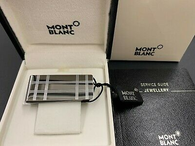 Montblanc Fermasoldi, Acciaio - Money Clip Stainless Steel 116634