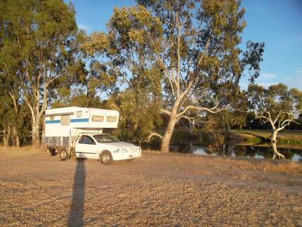 Slide on camper/Motorhome One Tree Hill Playford Area Preview