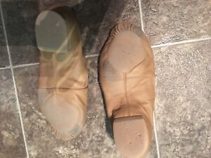 Bloch tan jazz shoes-size 7.5