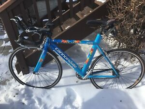 Cannondale triathlon bike- 52cm great shape