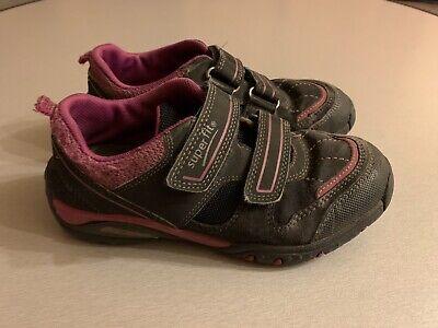 Halbschuhe Übergang Turnschuhe Sneaker für Mädchen Klett von SUPERFIT Gr. 33